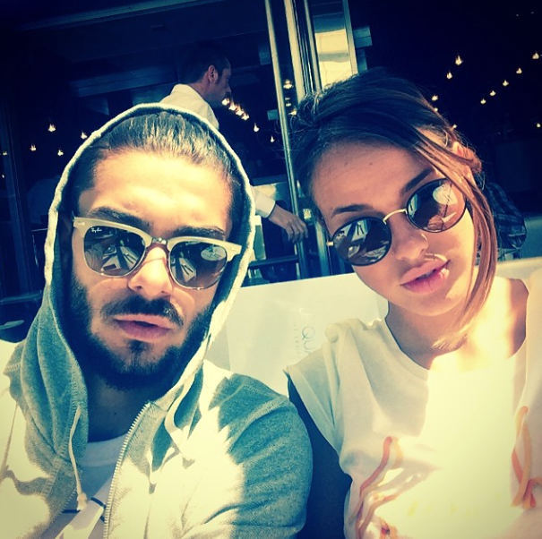 Photos : Vanessa Lawrens et Julien (Les Anges) : welcome to Saint-Tropez !