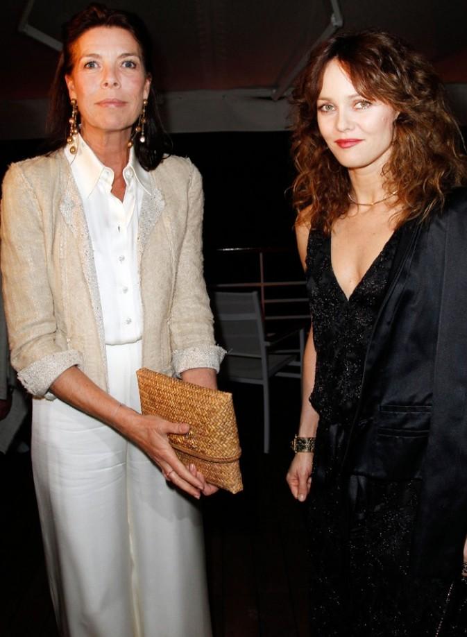 Vanessa prend la pose avec Caroline de Monaco