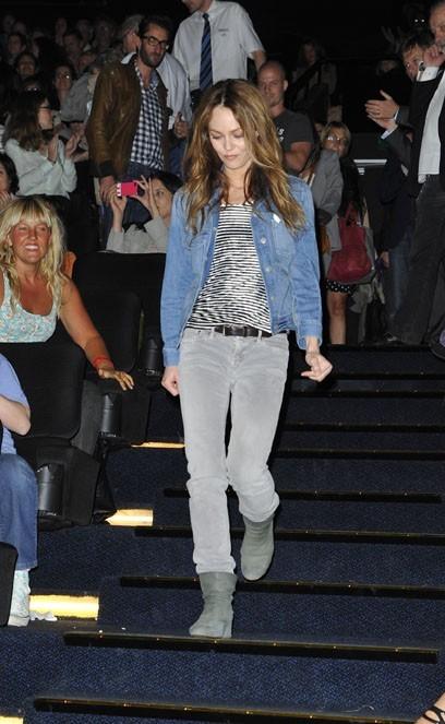 Vanessa Paradis à l'avant-première de Je me suis fait tout petit à Paris le 10 juillet 2012