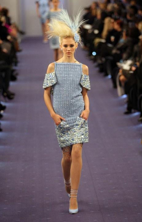 Défilé Chanel Haute Couture Spring-Summer 2012 à Paris, le 24 janvier 2012.