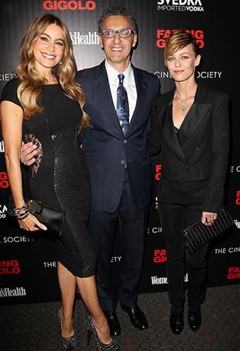 Sofia Vergara, John Turturro et Vanessa Paradis à New York le 11 avril 2014