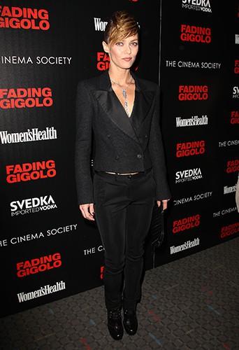Vanessa Paradis à New York le 11 avril 2014