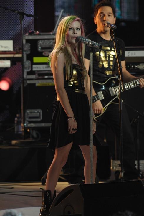 Avril Lavigne, LA star internationale de la soirée !