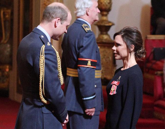 Prince William et Victoria Beckham