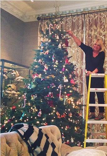 Le sapin de Noël d'Heidi Klum !