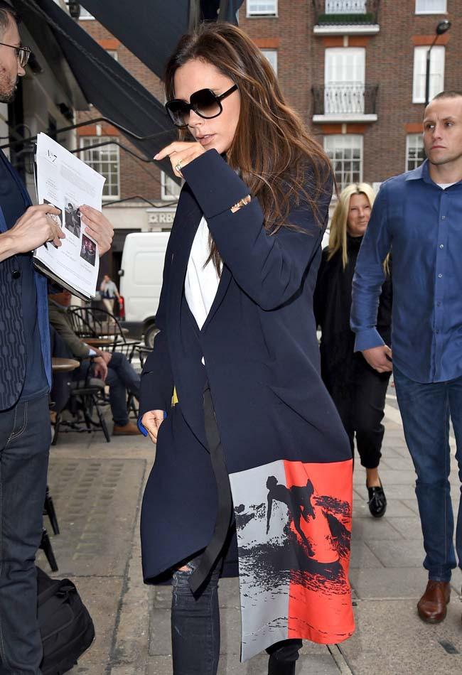 Victoria Beckham à Londres le 18 septembre 2015
