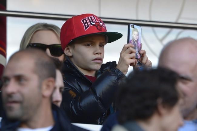 Romeo Beckham le 9 mars 2013 à Paris