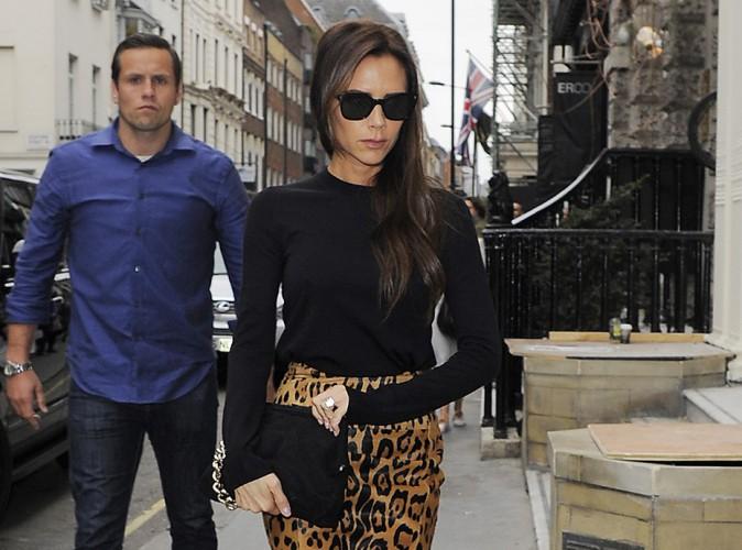 Victoria Beckham : bestiale pour visiter sa boutique londonienne !