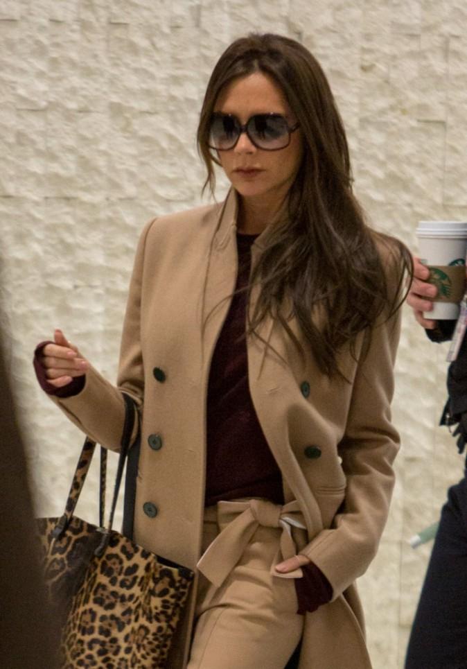Photos : Victoria Beckham : chic et féline, elle part à l'assaut de la Fashion Week new-yorkaise !