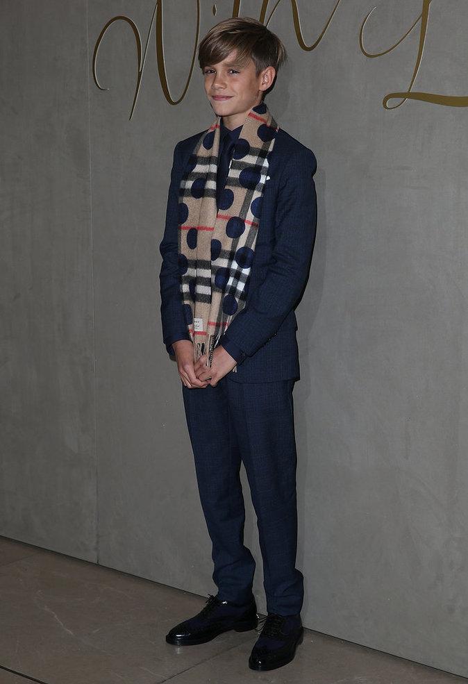 Romeo Beckham le 3 novembre 2015