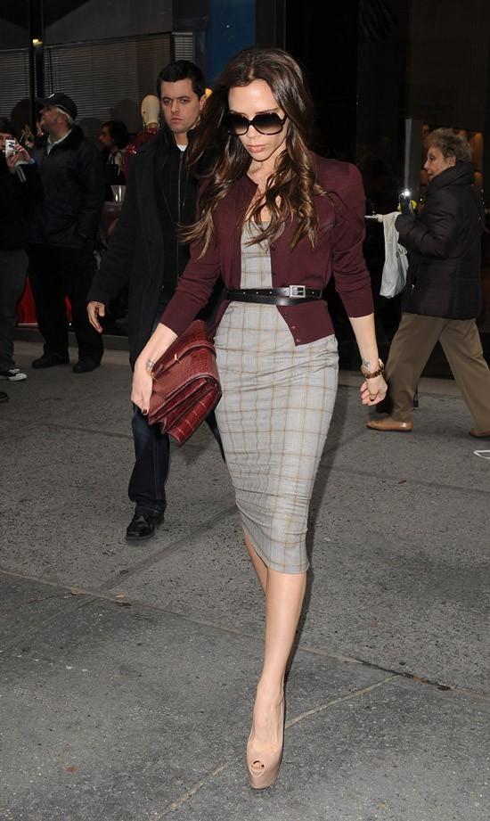 Victoria Beckham en virée shopping hier à New-York !