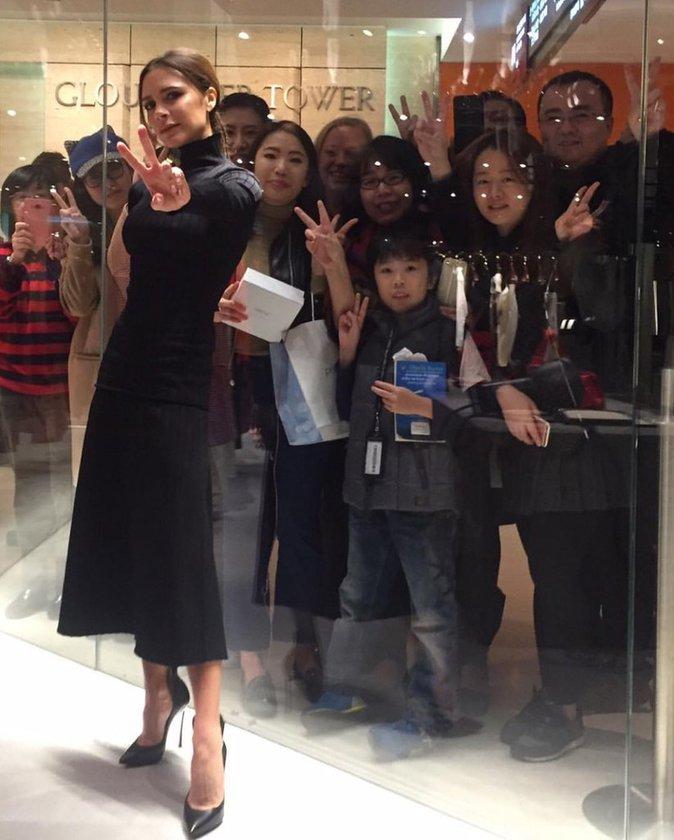 Victoria Beckham : elle ouvre un magasin � Hong Kong et s�duit la Chine !