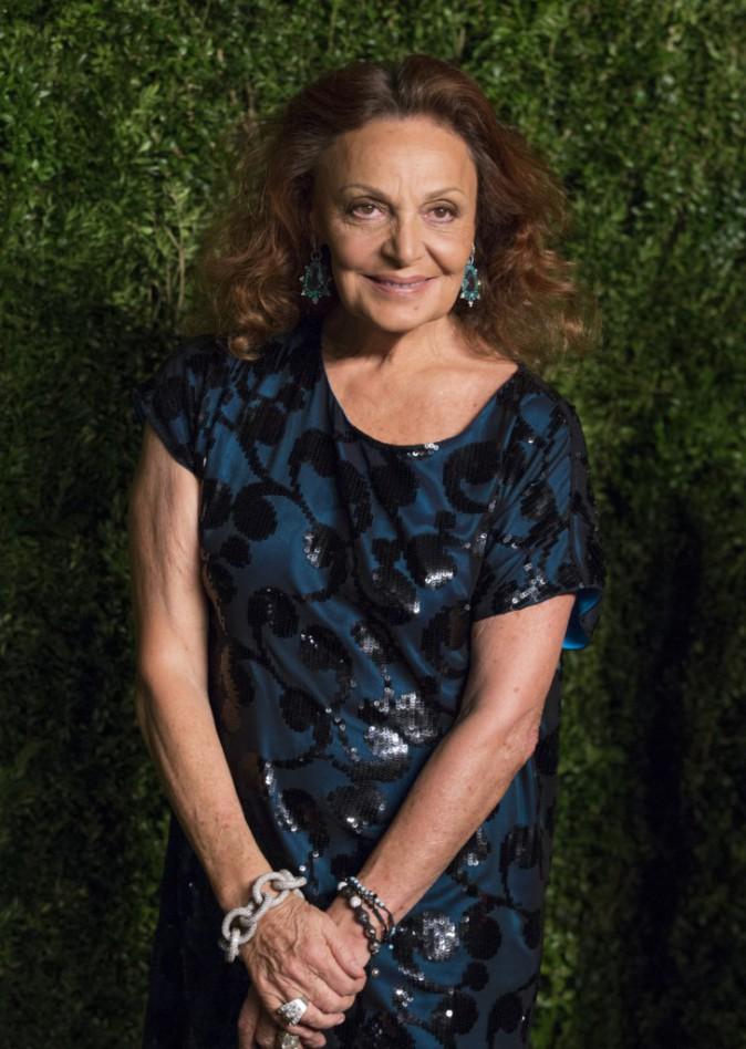 Diane von Fürstenberg le 4 novembre 2014