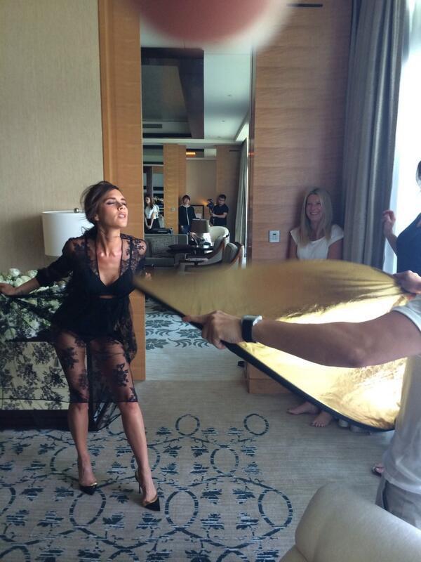 Victoria Beckham : en voyage d'affaires à Singapour, elle se lâche !