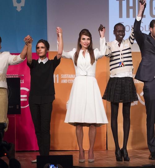 Photos : Victoria Beckham et Rania de Jordanie unies et fortes pour la bonne cause !