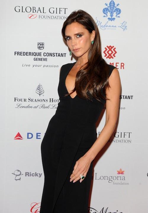 Victoria Beckham au Global Gift Gala à Londres, le 17 novembre 2014