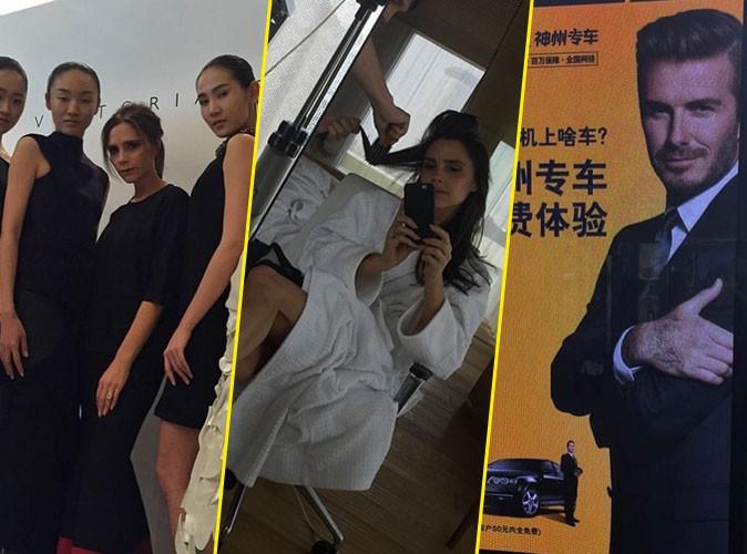 Photos : Victoria Beckham : femme d'affaires redoutable, toujours sous l'œil de David !
