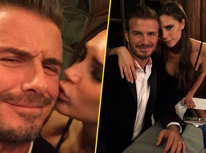 Photos: Victoria Beckham : gros bisous � son David ador� !