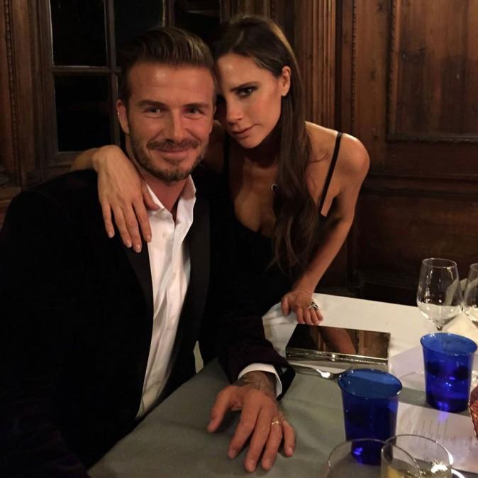 Photos: Victoria Beckham : gros bisous à son David adoré !