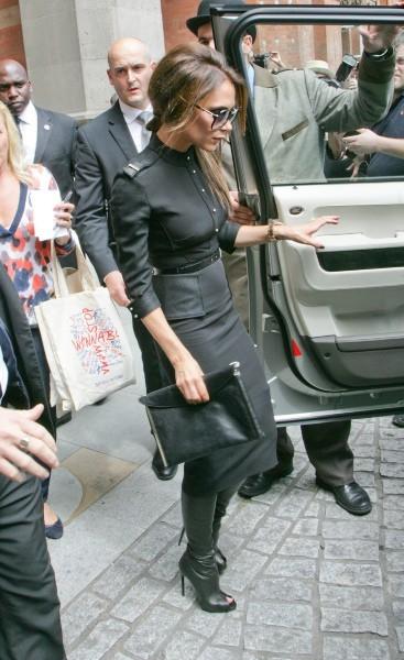 Victoria Beckham à Londres, le 16 décembre 2012.