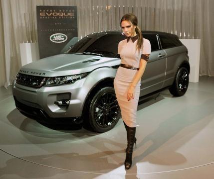 Pour la promotion de la nouvelle Range Rover
