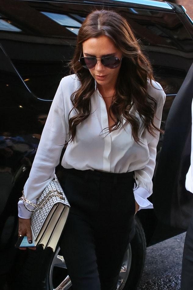 Victoria Beckham à New-York le 11 septembre 2012