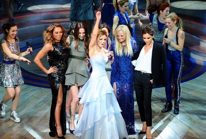 Les Spice Girls réunies pour la première de Viva Forever à Londres le 11 décembre 2012