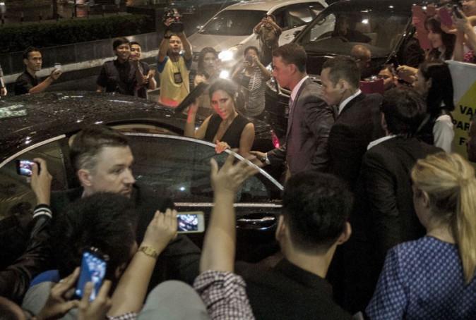 Victoria Beckham à Jakarta le 13 mai 2014