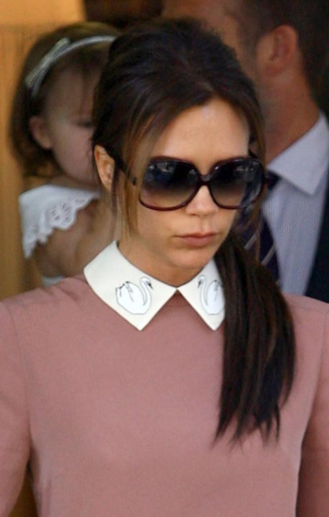Victoria Beckham à Londres, le 26 juillet 2012.