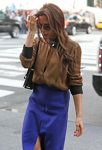 Victoria Beckham à New-York le 9 mai 2013