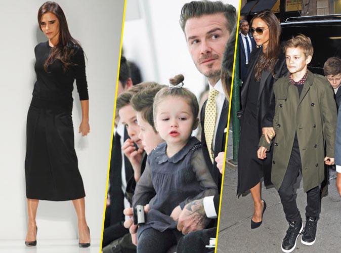 Les Beckham à New York.