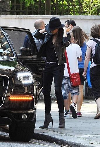 Victoria Beckham à Londres le 5 juillet 2013