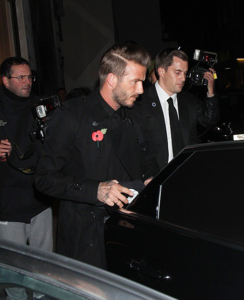 Photos : Victoria et David Beckham : relégués au second plan par leur fils, Romeo !