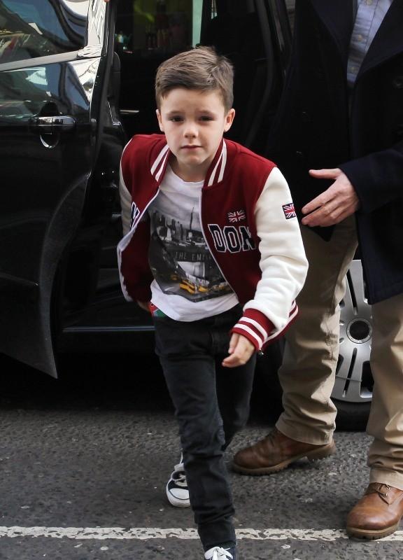 Cruz Beckham le 18 février 2013 à Londres