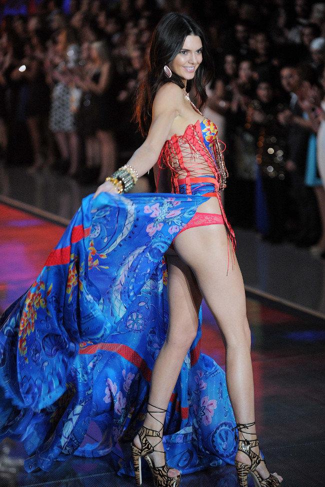 Kendall Jenner au défilé Victoria's Secret organisé le 10 novembre 2015 à New-York