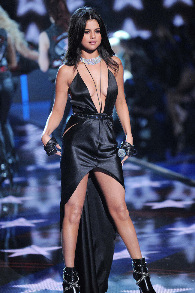 Selena Gomez au défiilé Victoria's Secret organisé à New-York le 10 novembre 2015