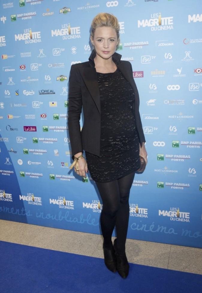 Virginie Efira lors de la 3ème cérémonie des Magritte du cinéma à Bruxelles en Belgique, le 2 février 2013.