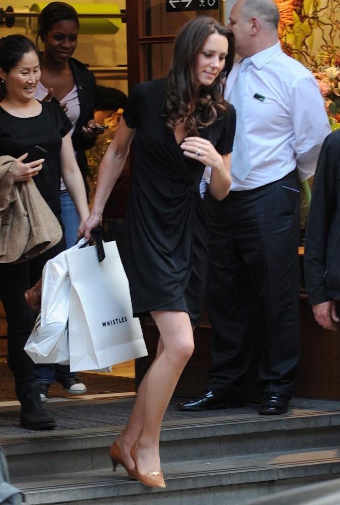 Photos : la fashionista Kate Middleton est accro au shopping !