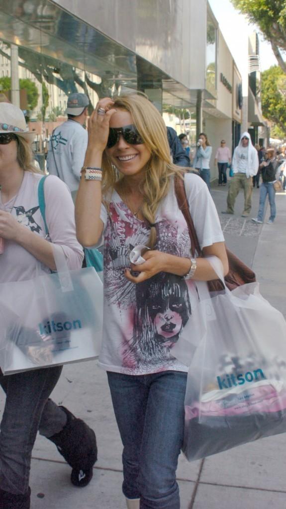 Photos : Lindsay Lohan aime les virées shopping entre amies !