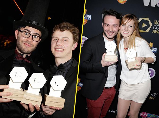 Photos : Web Comedy Awards : Cyprien, Norman et Jérôme Niel récompensés... découvrez le palmarès !