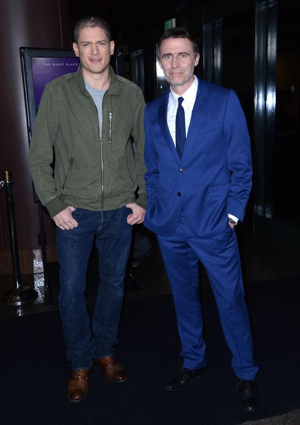 """Wentworth Miller à l'avant-première de """"The Loft"""" à West Hollywood le 27 janvier 2015"""