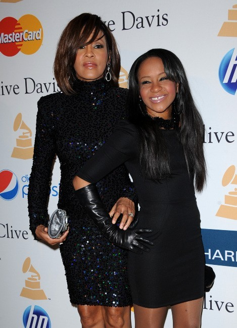 Whitney Houston et sa fille Bobbi Kristina...
