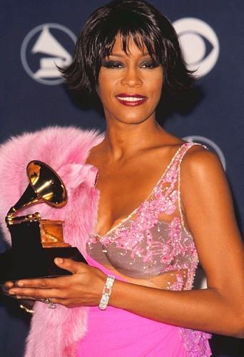 Aux Grammy Awards en 2000 à LA.