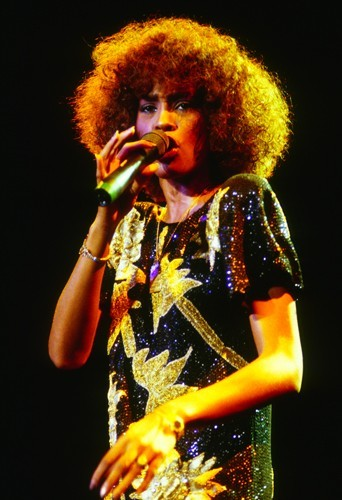 En 1986 lors d'un concert à Bruxelles.
