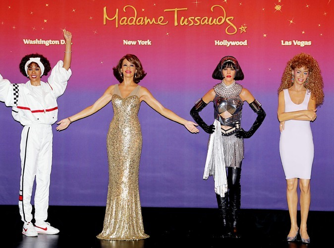 Un an après sa disparition, le Madame Thussauds lui rend hommage et lui dédie quatre statues de cire, inaugurées le 7 février 2013.