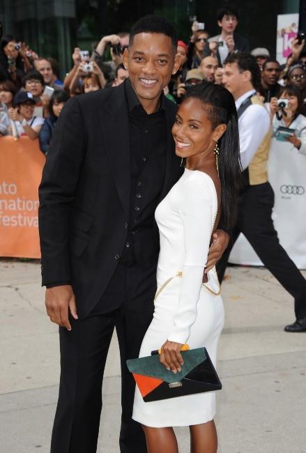 Will Smith et sa femme Jada Pinkett au Festival du film de Toronto, le 9 septembre 2012.