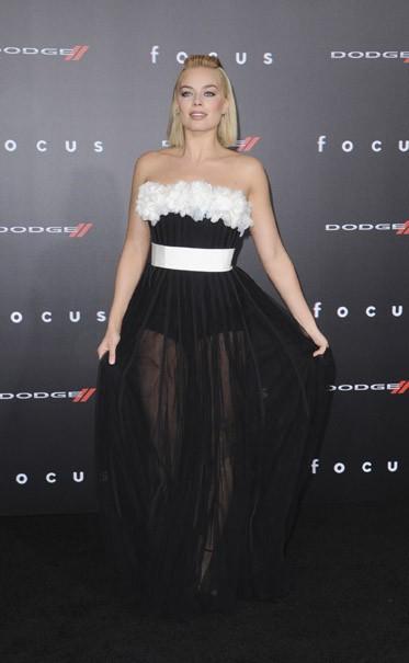 Margot Robbie à Los Angeles le 24 février 2015