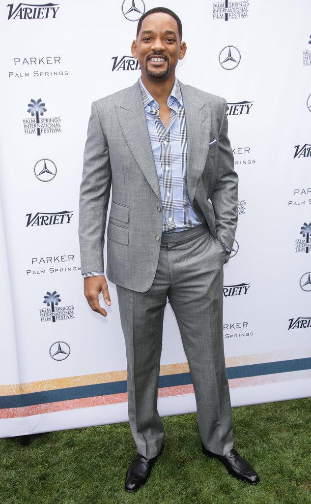 Will Smith a l'habitude de prendre la pose face aux objectifs