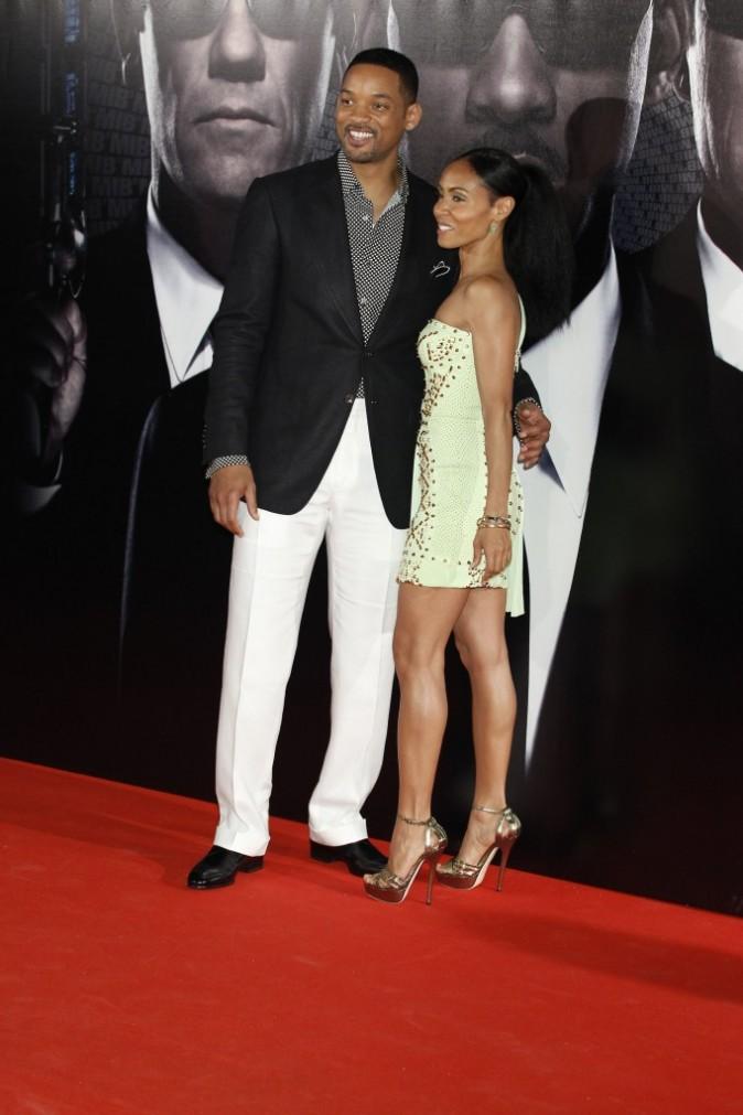 Will Smith et Jada Pinkett le 13 mai 2012 à Madrid