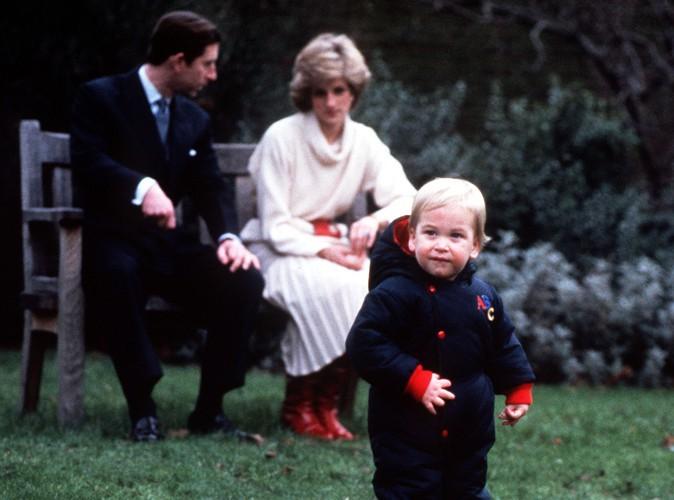 Le prince William, ici à l'âge de 18 mois